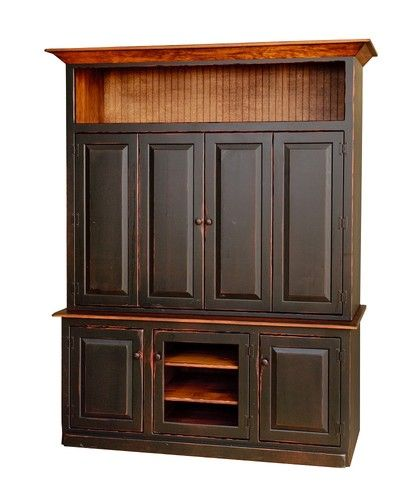 Painted Wine Hutch