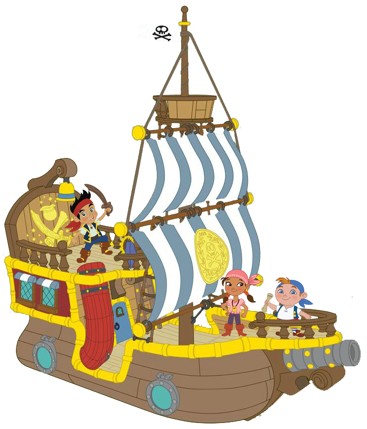 Barco de Jake   jake and neverland pirates   Pinterest   Piratas