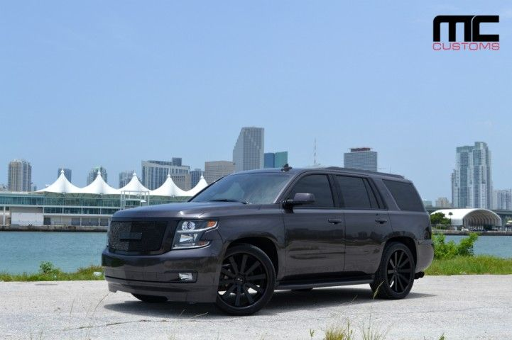 Chevy Tahoe On 24 Inch Gianelle Wheels By Mc Customs Rides