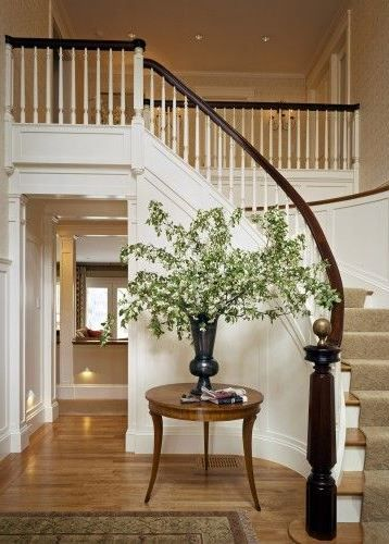 Best Half Spiral Staircase Renovation Remove The Pony Walls 400 x 300