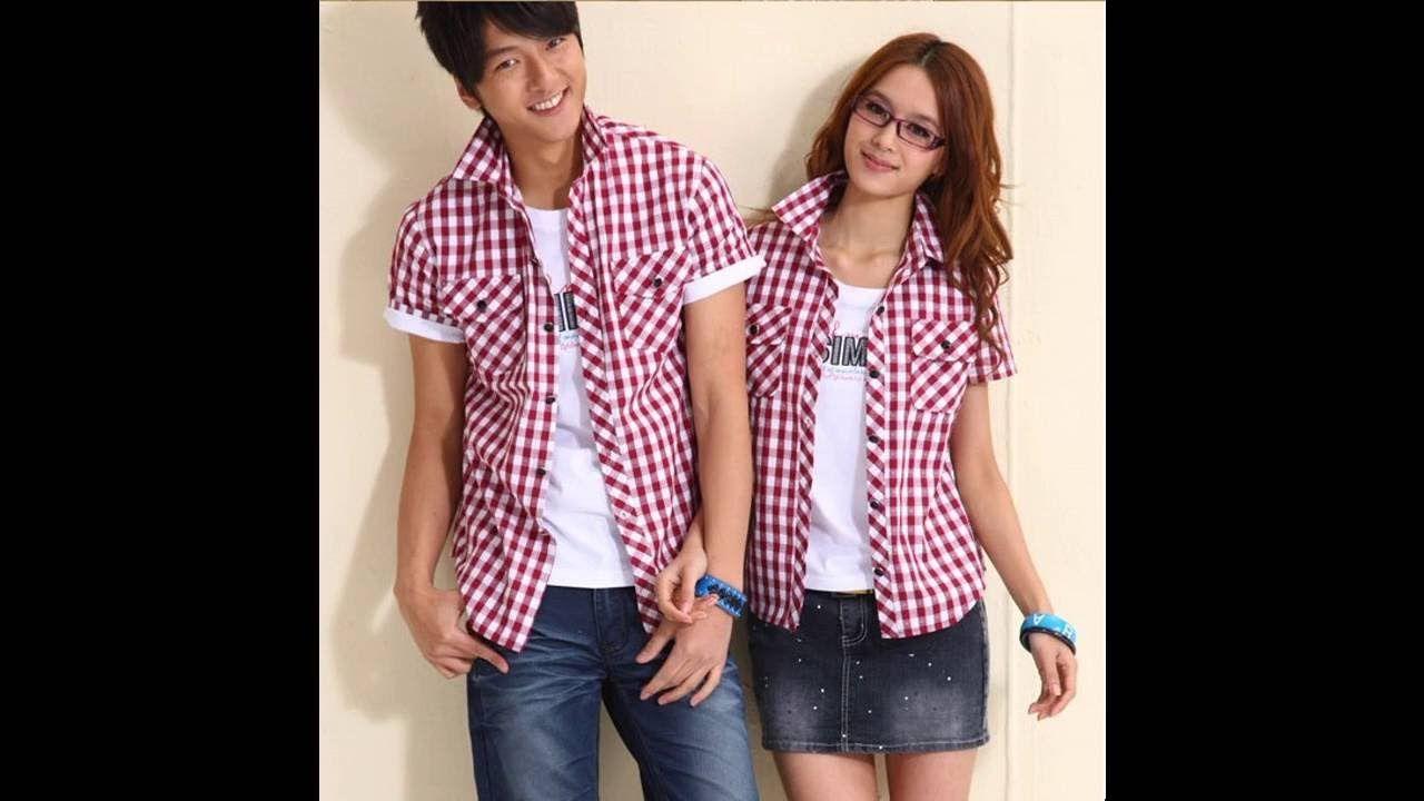 Las últimas tendencias Ropa de moda para parejas - YouTube | parejas ...