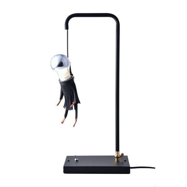 Designer Lucas Muñoz's Colgao table lamp.