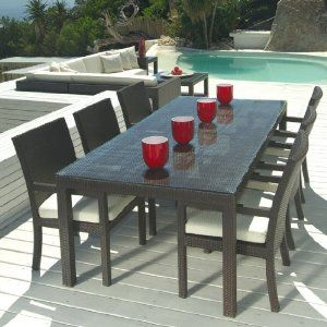 Outdoor Table Outdoor Wicker Patio Furniture Patio Furnishings Patio Dining Table