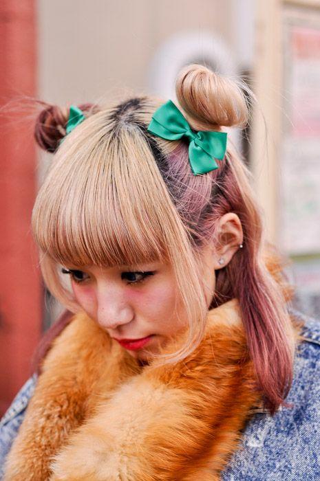 #japanese #street #fashion #hair