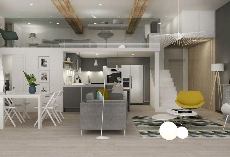 Pied à terre chic et moderne rénovation appartement canut lyon