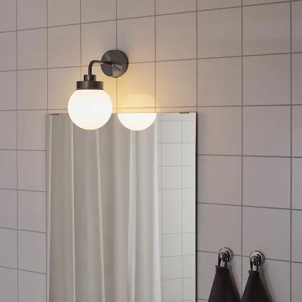 FRIHULT Lampa ścienna czarny i 2020 | Vägglampa, Lampor, Ikea