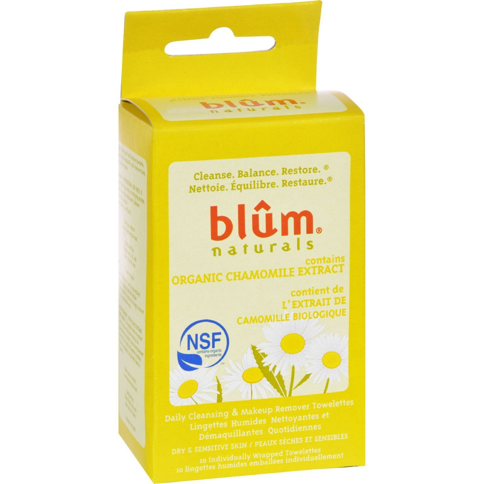 Blum Naturals Dry and Sensitive Skin Daily Cleansing and
