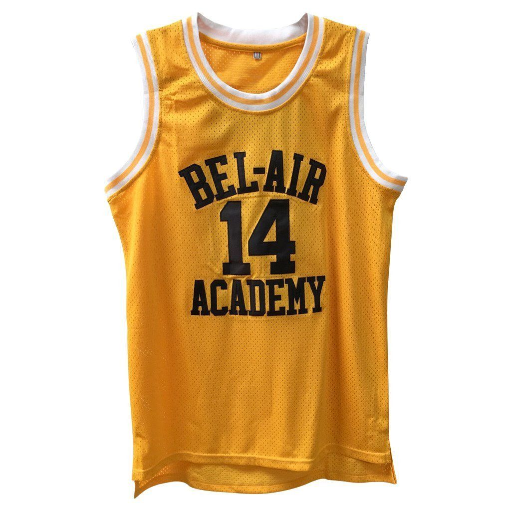 78c0fc1d583 Fresh Prince Of Bel-Air Academy Basketball Jersey #14 Home | shirts ...