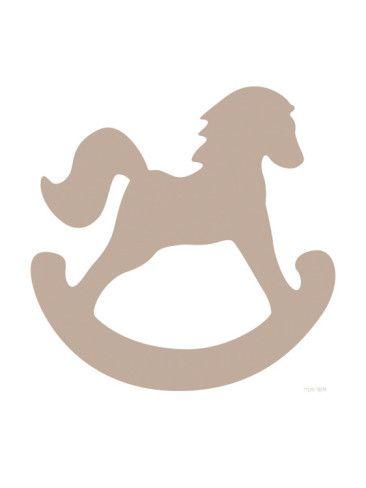 Brown Rocking Horse | Silhouettes | Pinterest | Horses, Horse art y Art