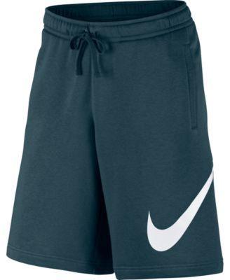 Nike Men's Club Fleece Sweat Shorts Blue 2XLT | Nike men