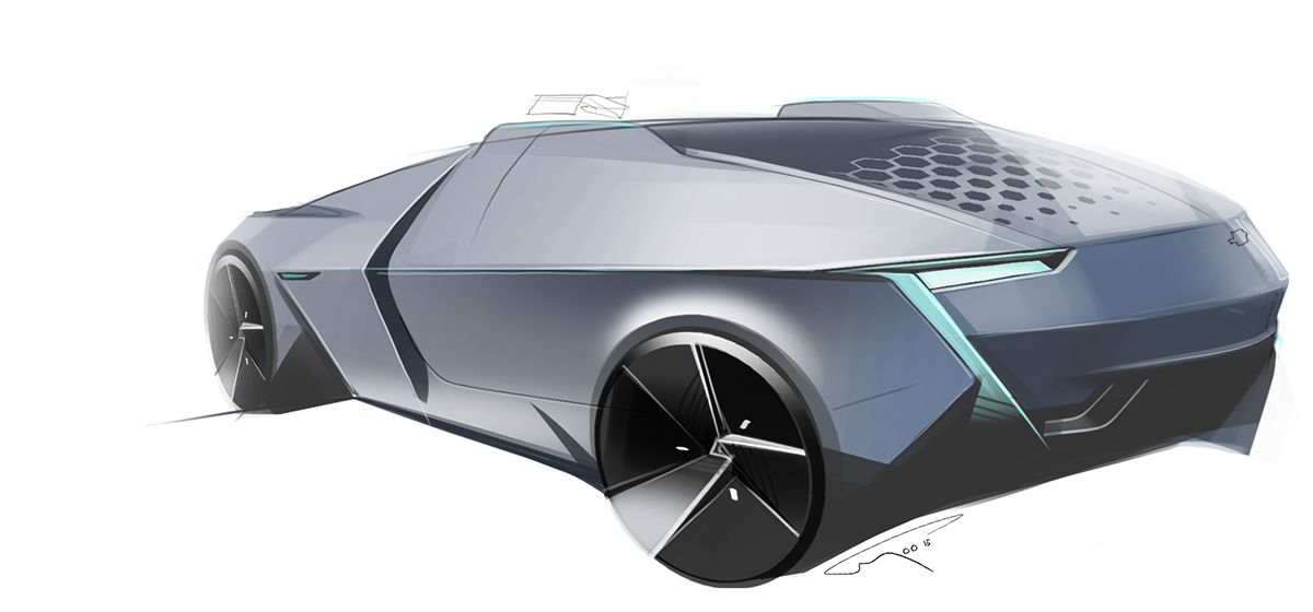 Chevy Electric on Behance | Chevy, Concept cars, Design model