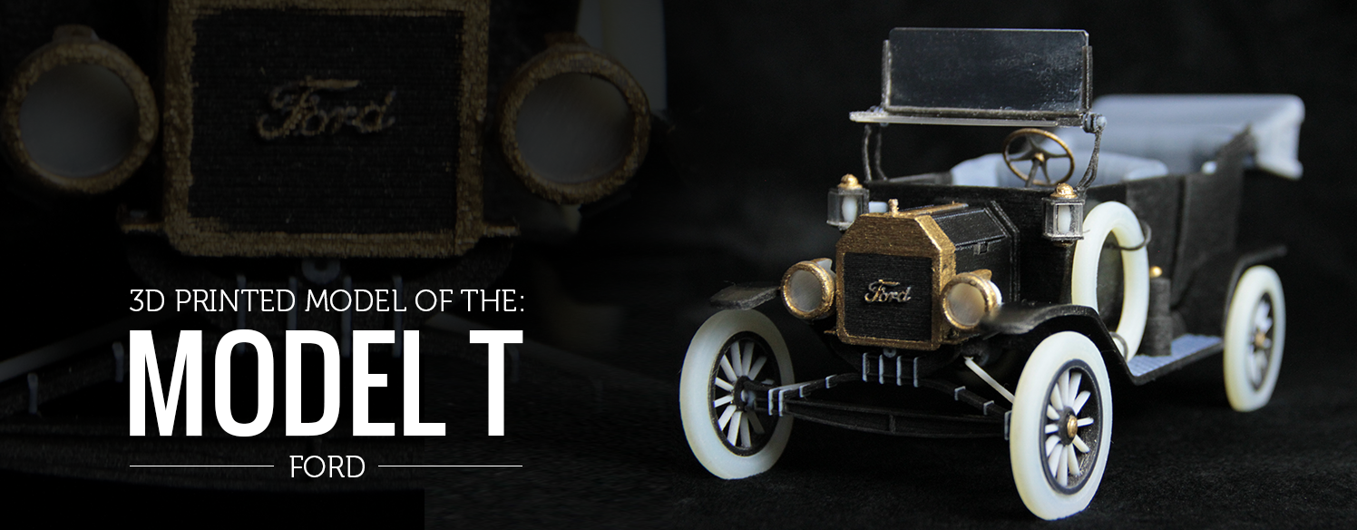 Model T Ford 3d Printed For Centennial Of Assembly Line Model T