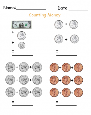 Math Money Worksheet  Free Printable Worksheets