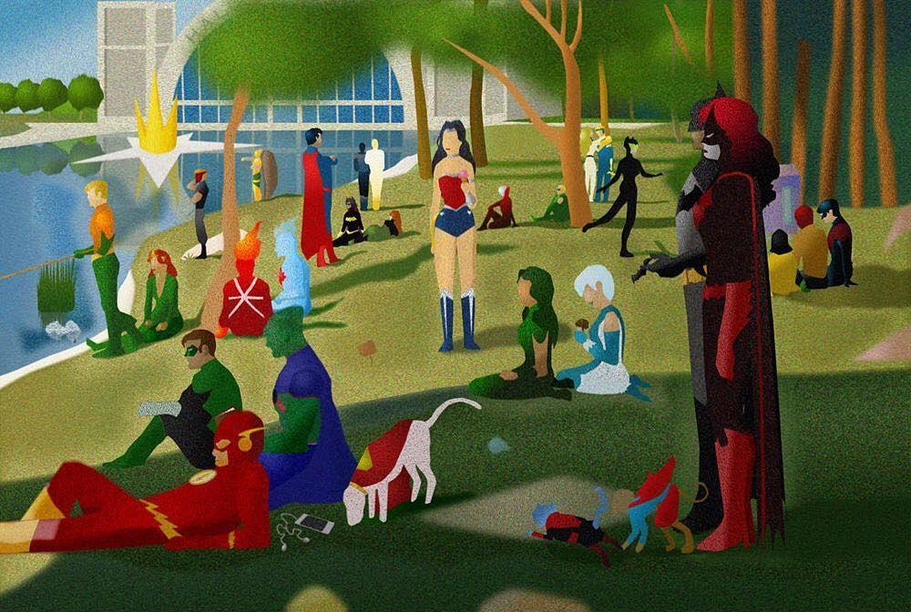 What a lovely day. Should be working. Shoulda but didn't (reading comics in the garden). #DC #dccomics #summer #sunshine #dceu #dcextendeduniverse #wonderwoman #thebatman #justiceleague #batgirl #gothamcitysirens #nightwing #gotham #arkham #arkhamasylum #comics #comic #comicbook #comicbooks #geek #nerd #comiclover #park #dayinthepark