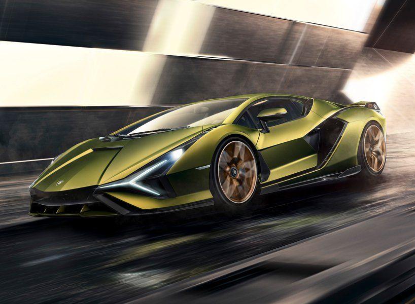 Lamborghini Sian Debuts As Brand S First Hybrid Production Car Cool Architecture Lamborghini Models Lamborghini Super Sport Cars