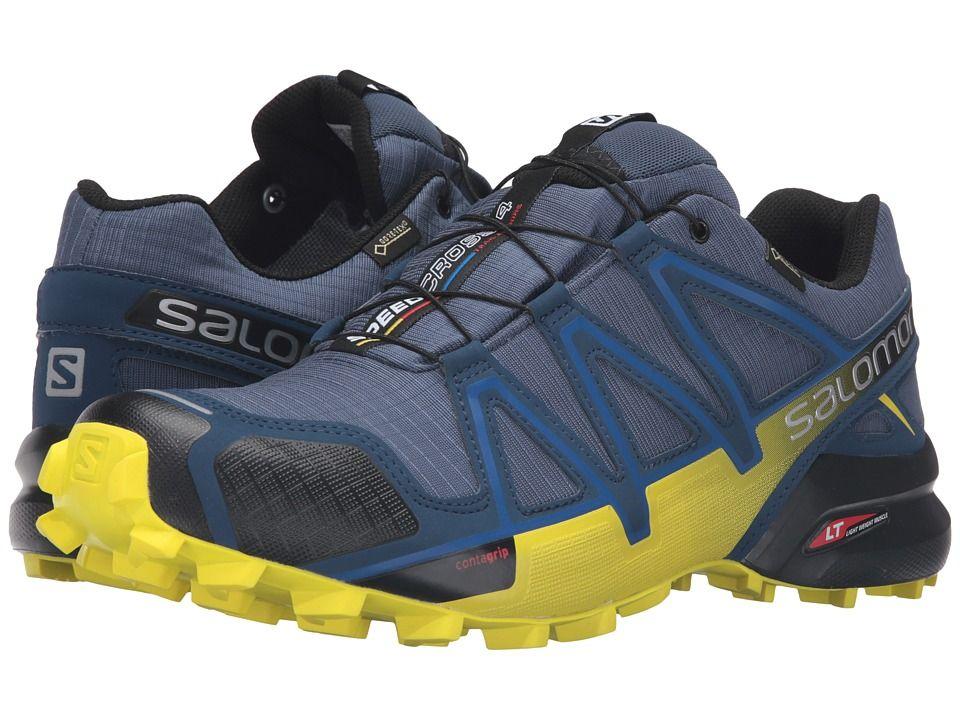 Salomon Speedcross 4 GTX Men's Shoes Slateblue/Blue Depth