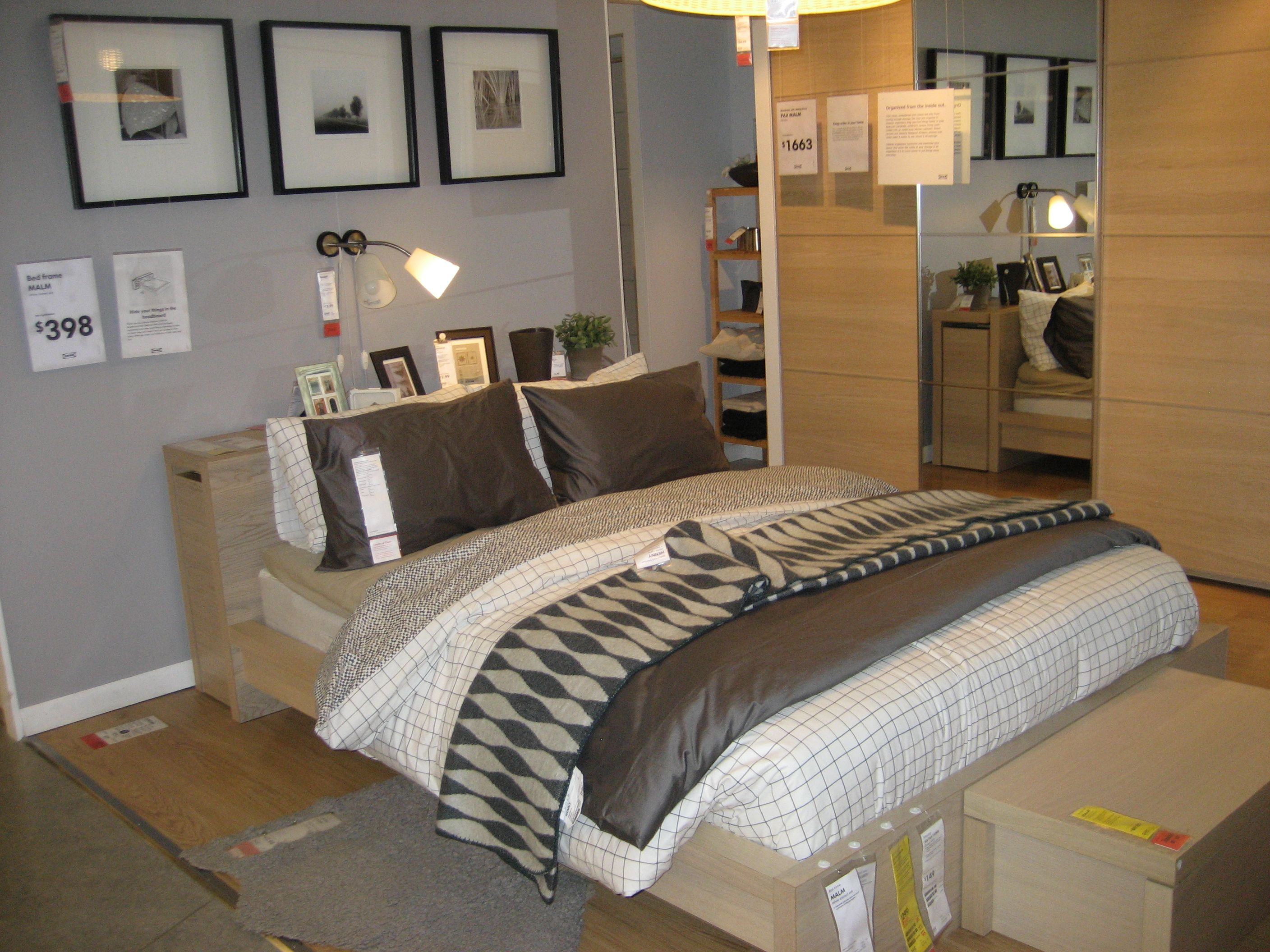 Beautiful Ikea Malm Bedroom Set
