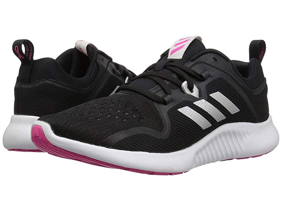 923ee993ef867 adidas Running Edgebounce (Black White Shock Pink) Women s Shoes. Go farther