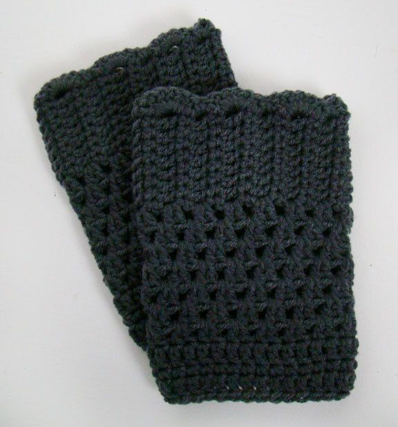CUSTOM Boot Cuffs. $18.00, via Etsy.
