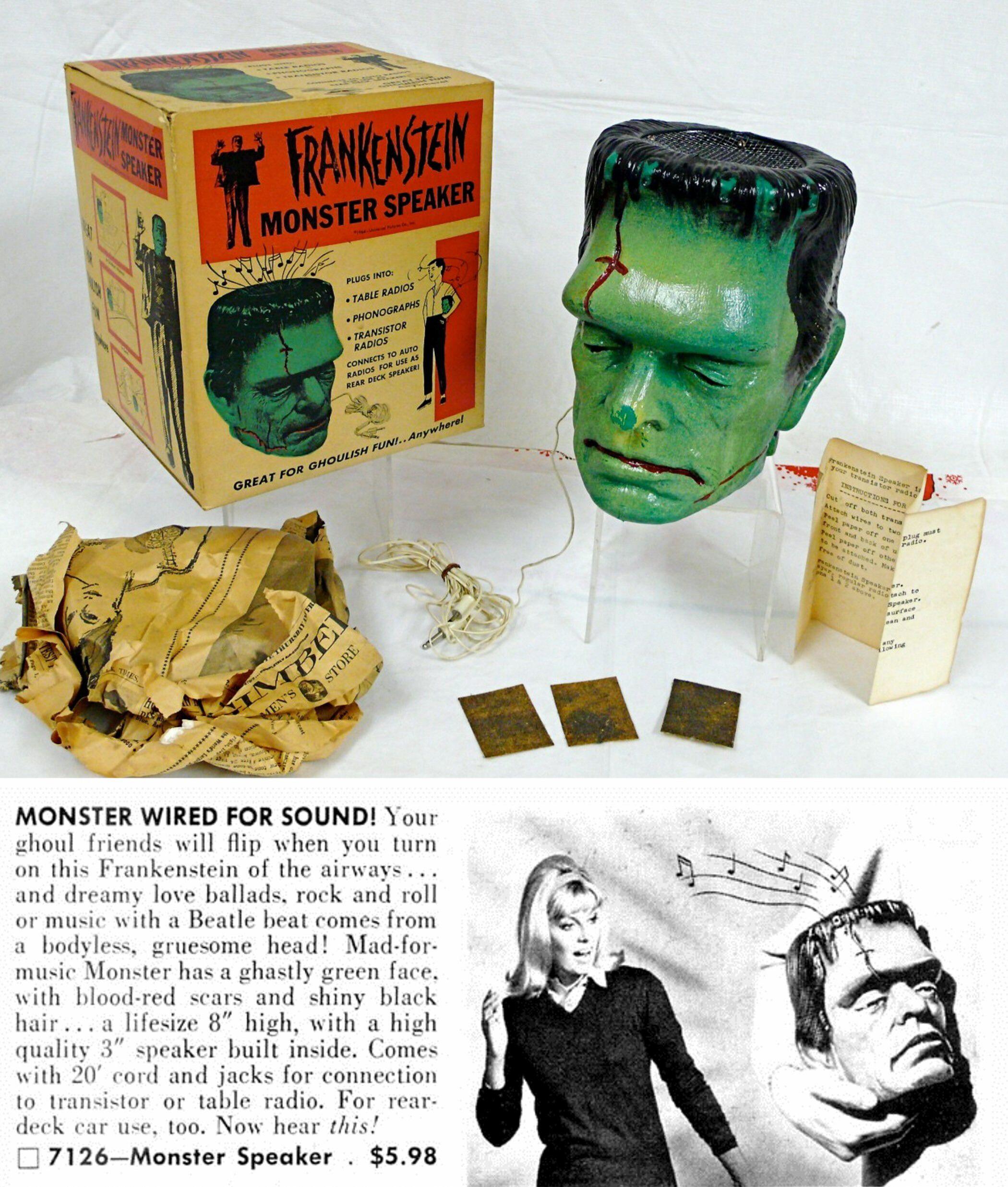 1960s Frankenstein Monster Speaker