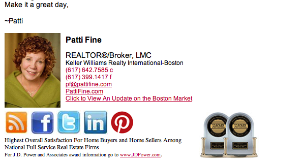 Patti Fine Custom Email Signature For Gmail Signature Ideas