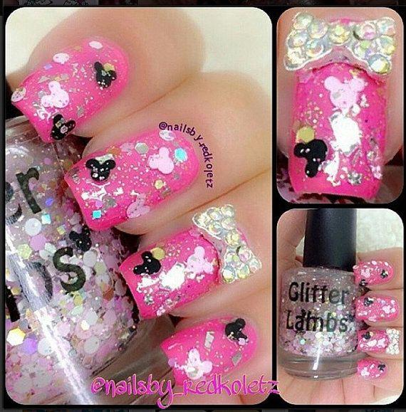 & Minnie: Glitter Topper Nail Polish Lacquer- Indie Nail Polish ...
