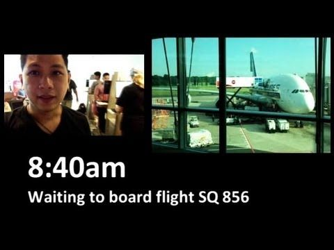 Singapore Airlines Airbus A380 to Hong Kong (Part 1) - http://www.travelfoodfair.com/post/singapore-airlines-airbus-a380-to-hong-kong-part-1/