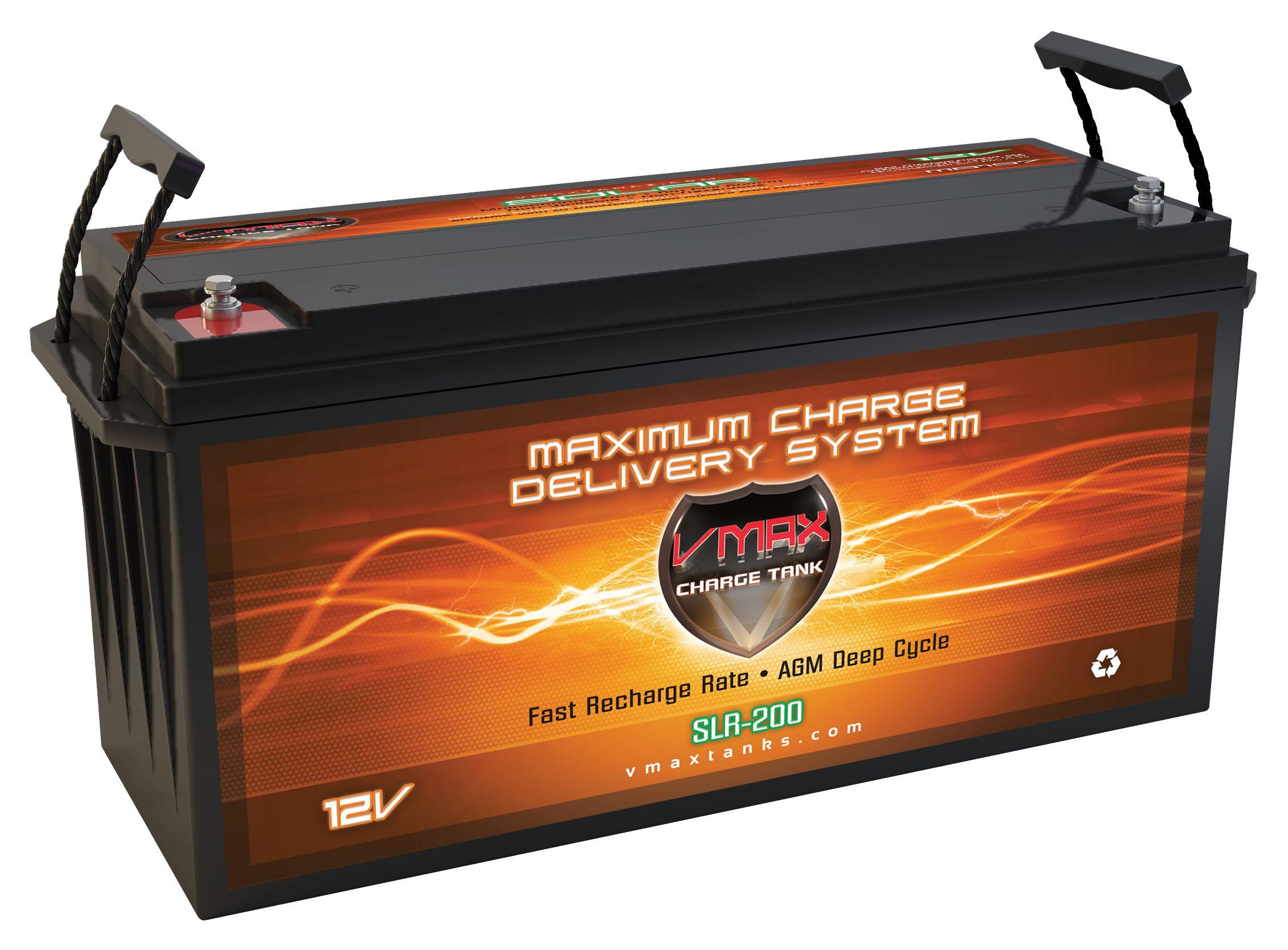 Vmax Slr200 12 Volt 200ah Agm Deep Cycle Hi Performance Batt Solar Power Solar Panels Solar Pv Panel