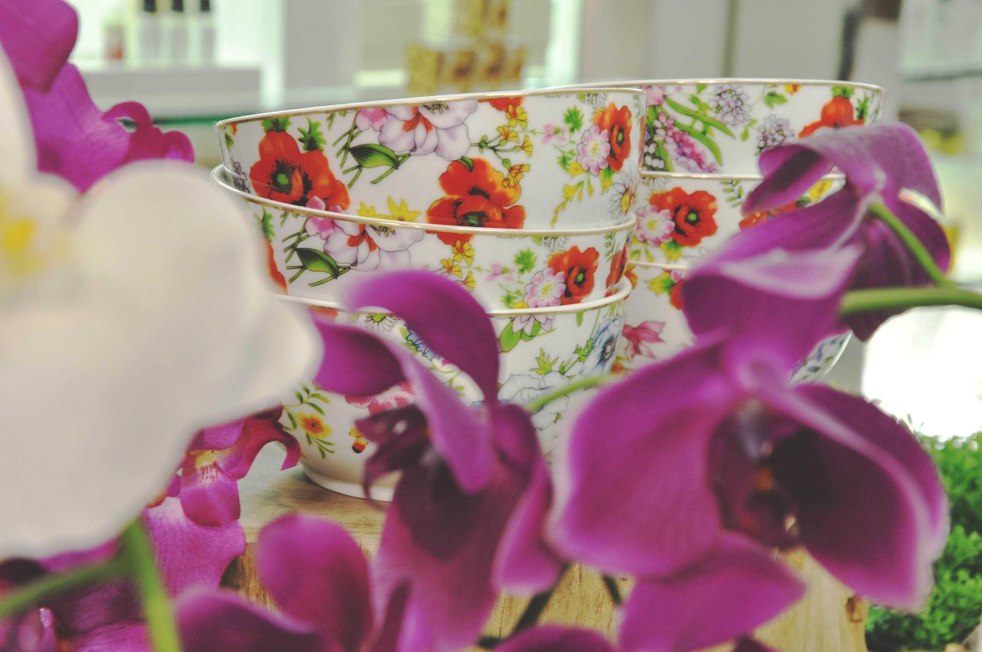 #flowers #cups #tablescape #mesa #flores #primavera #decor