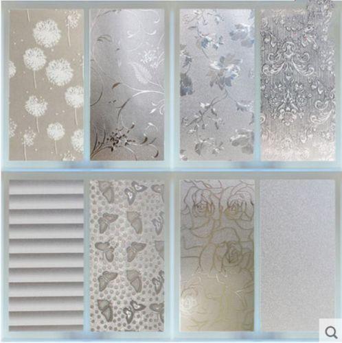 waterproof pvc privacy frosted home bedroom bathroom window sticker rh pinterest com