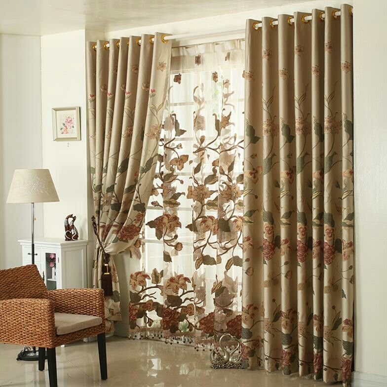 Pin de Radhia Hamdi en Curtains Pinterest - cortinas para ventanas