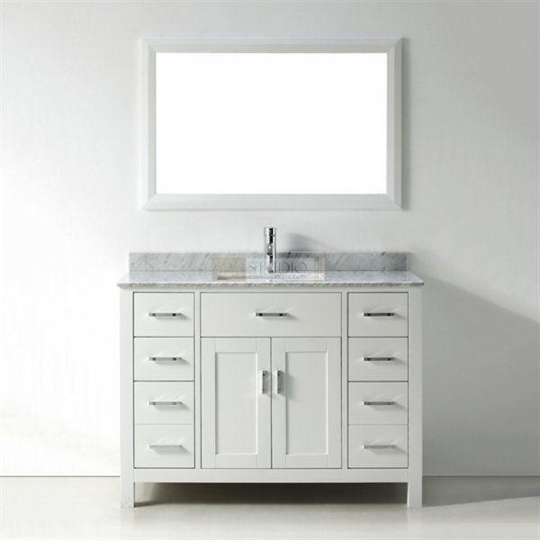 spa bathe kenzie series bathroom vanity at atg stores bathroom rh pinterest com