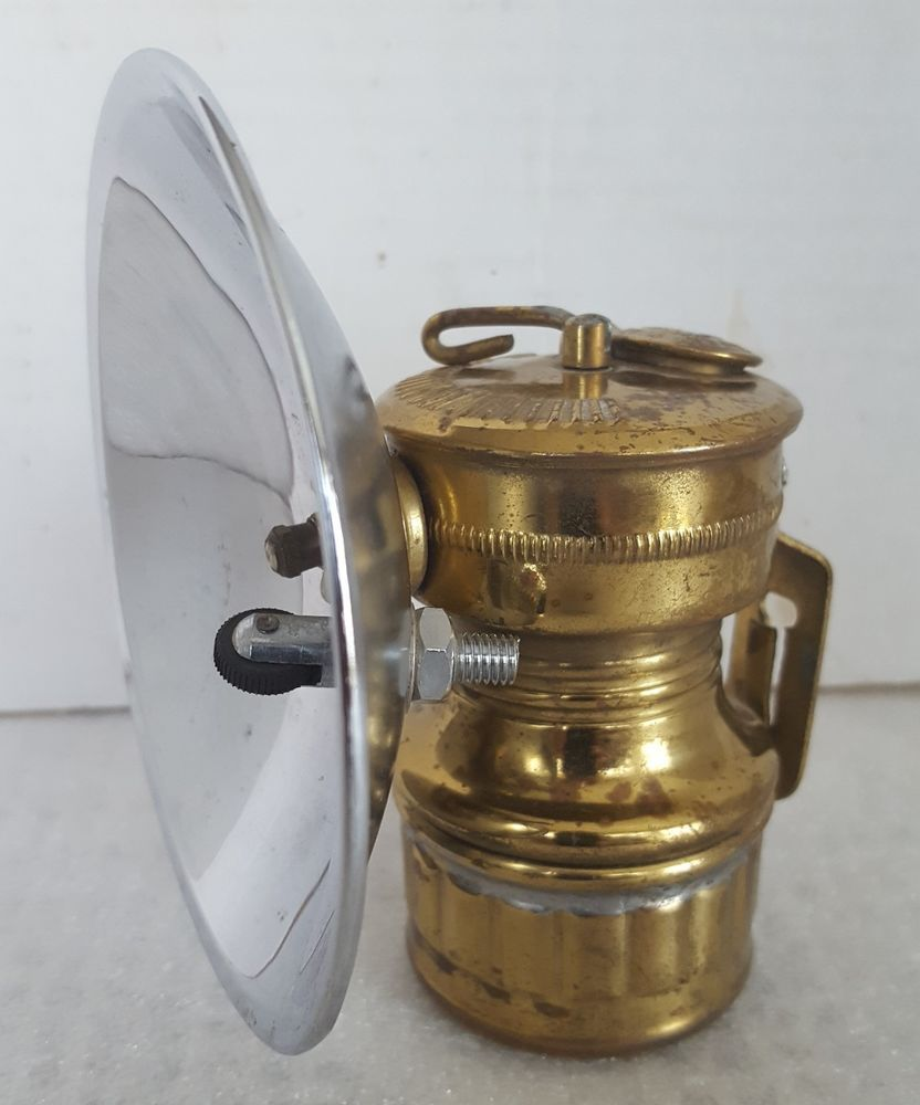 Vintage Butterfly Carbide Miners Lamp Made In Hong Kong For Safesport Mfg Co Antique Collection Equipment For Sale Ebay