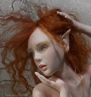 Ooak+Fairies | OOAK Art Doll Fairy Sculpt Fantasy ~Pixiworth used, new for sale ...