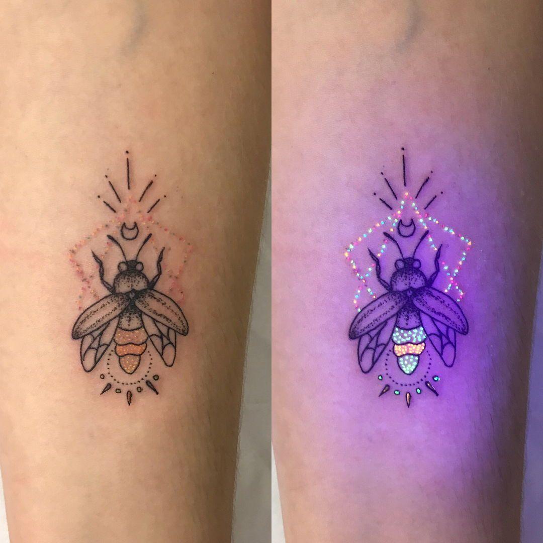 Uv tattoo artist tukoi oya uv tattoo firefly tattoo