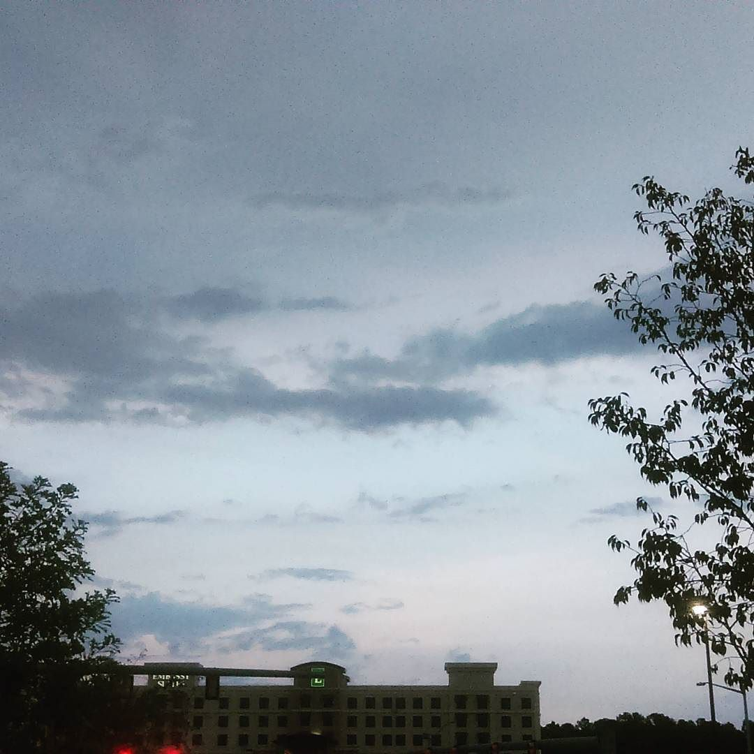 It looks pretty but there is a storm a brewing #NC