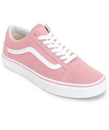 old skool vans rosas