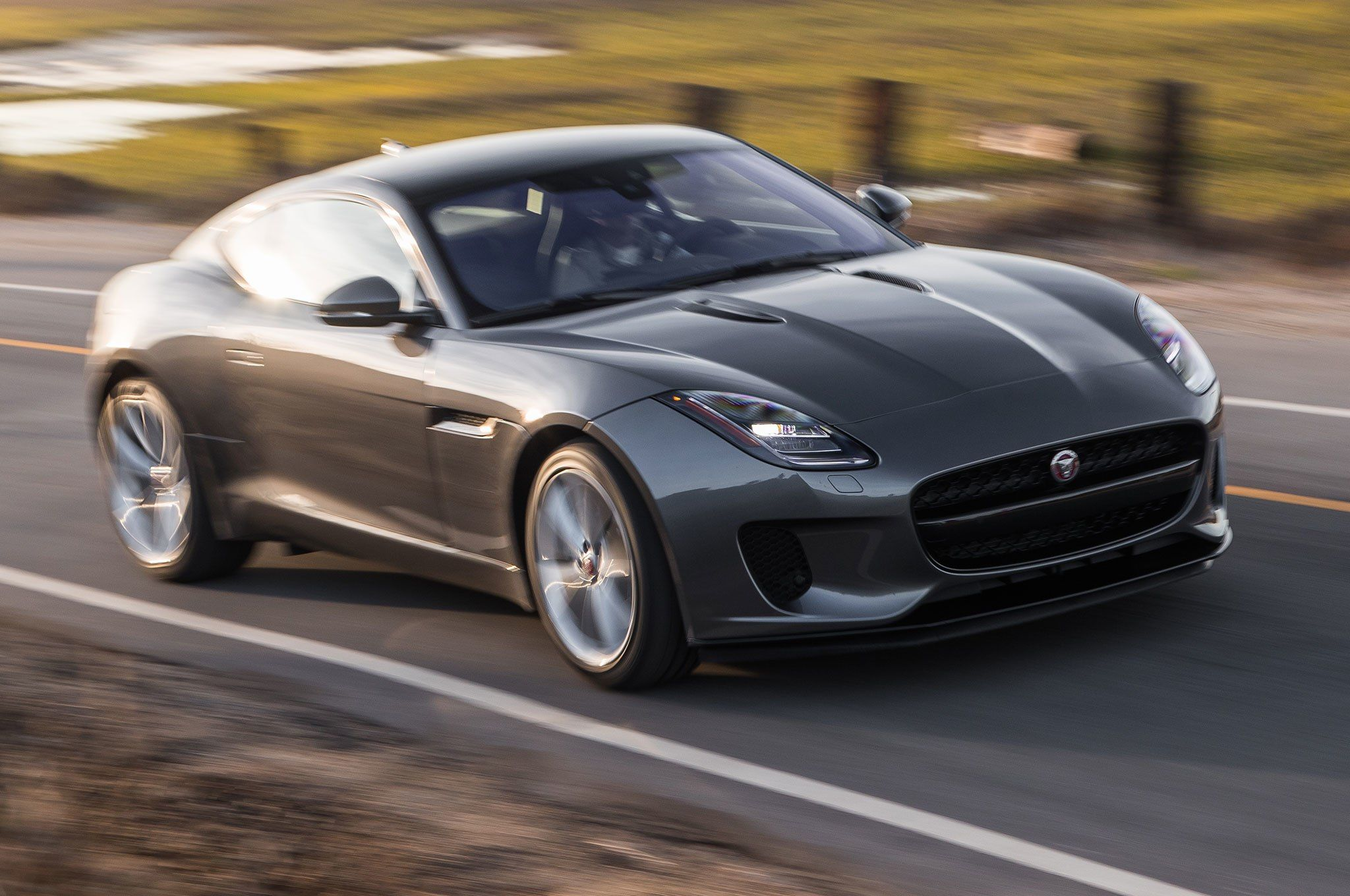 2018 Jaguar F Type Coupe Turbo Four First Test In 2020 Jaguar F Type Jaguar Coupe