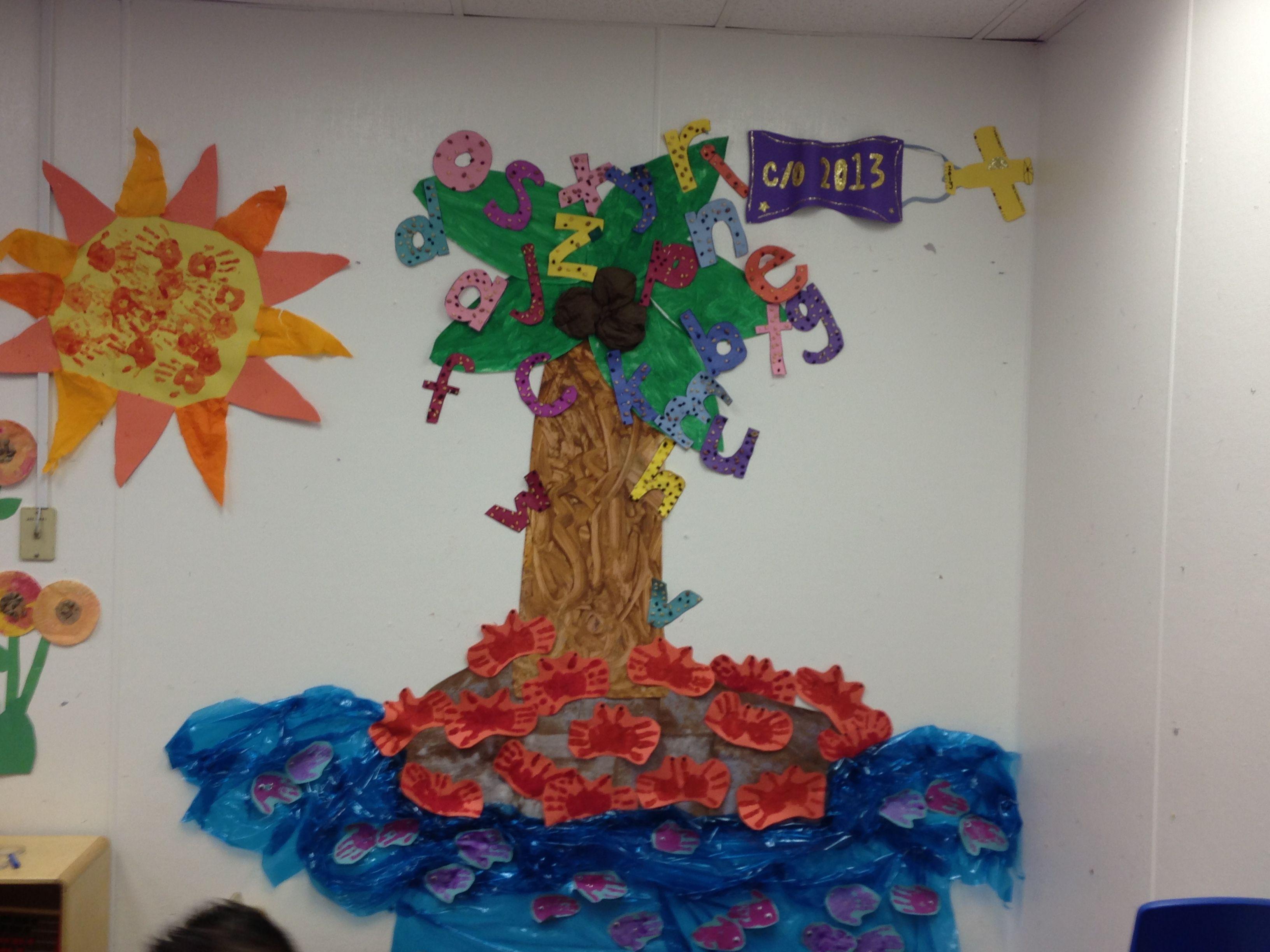 Our PreK Class island theme!! Machado PREk!