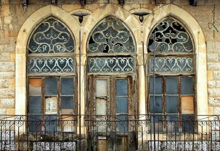 Lebanese triple arcade lebanese architecture pinterest for Lebanese home designs