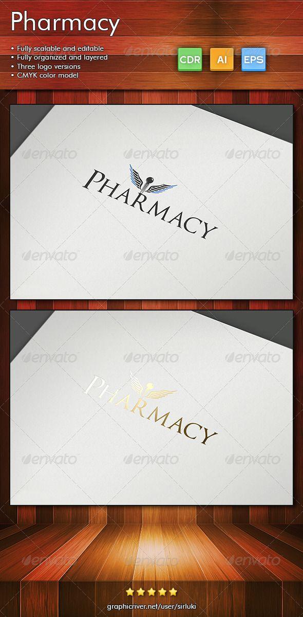 Pharmacy Objects Logo Templates Pharmacy
