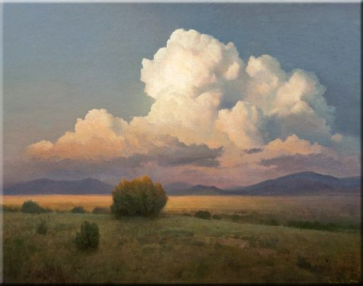 P A Nisbet The Finest In American Landscape Painting Landscape Paintings Sky Painting Landscape