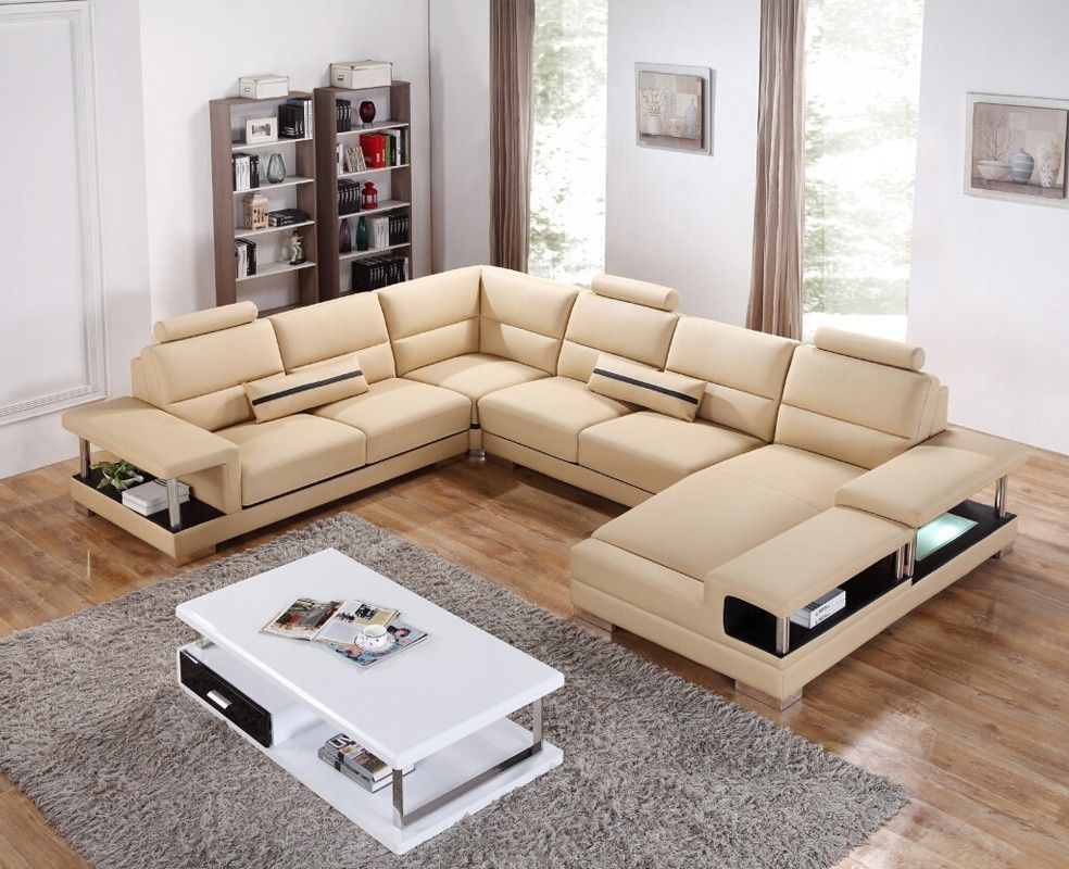 leather sectional sofas for modern living room leather sectional rh pinterest ca
