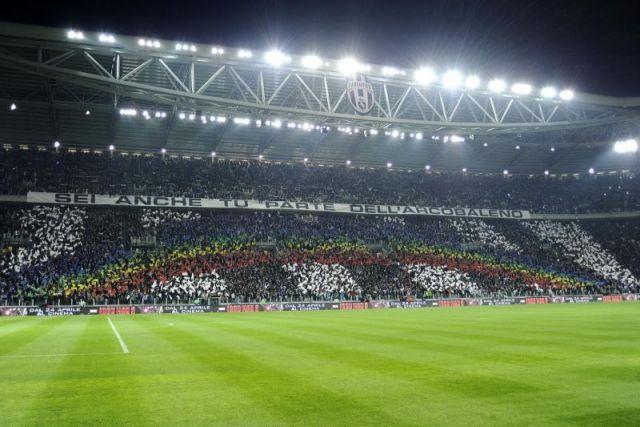 Coreografia Juventus Milan 1-0