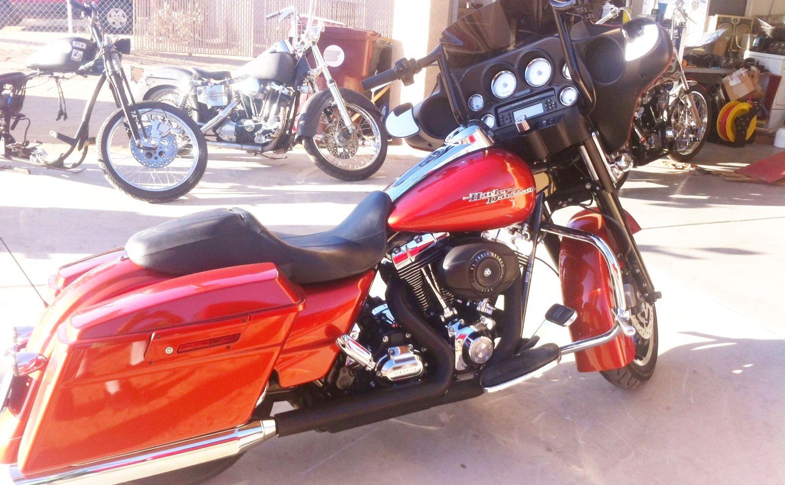 2011 Street Glide With Paul Yaffe 12 Monkey Bars Street Glide Harley Davidson Harley