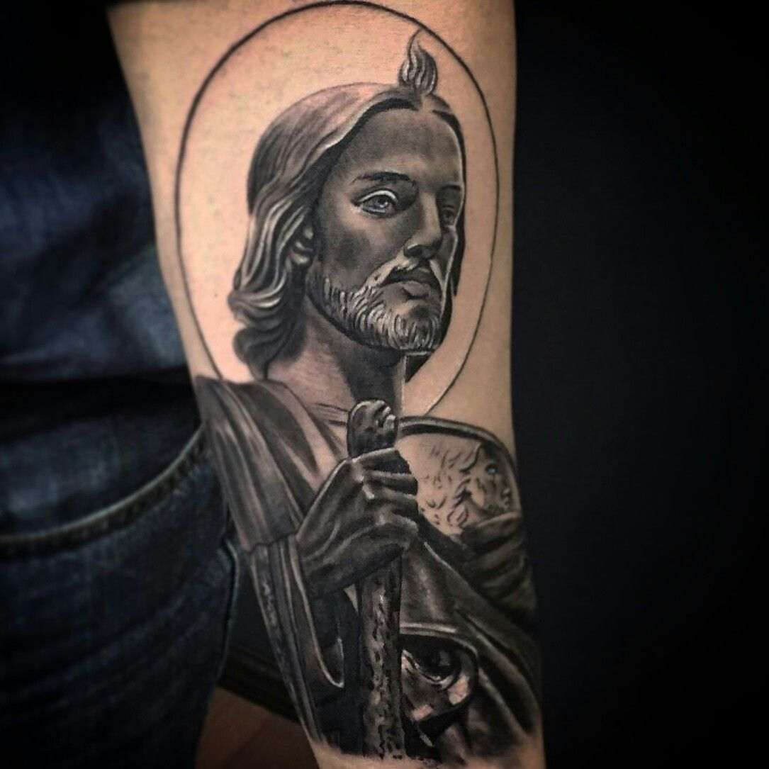San Judas Tadeo Tattoos Tattoos Tattoo Designs Y Religious Tattoos