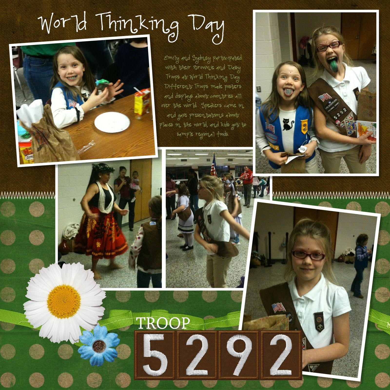 Girl scout scrapbook ideas - Girl Scout Scrapbook Ideas Google Search