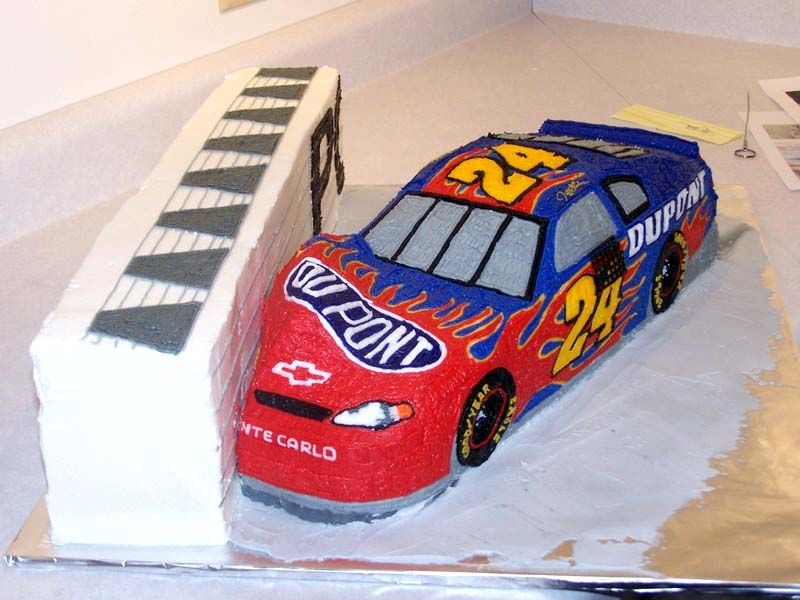 Love This Cake Just Wish It Was Kyle Busch Car Instead