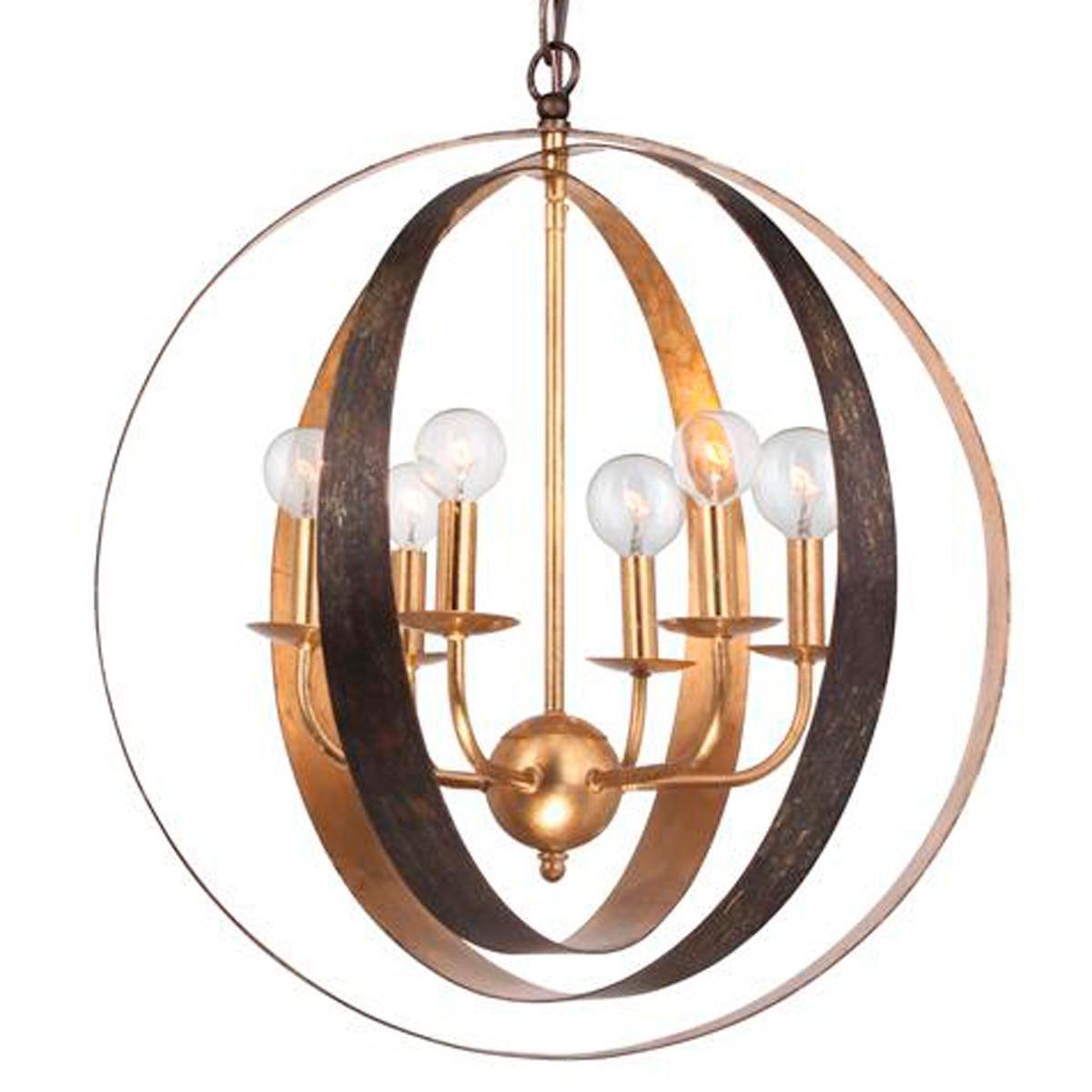Large Two Tone Triple Sphere Chandelier Shades Of Light Large Chandeliers Chandelier Ceiling Lights Globe Chandelier
