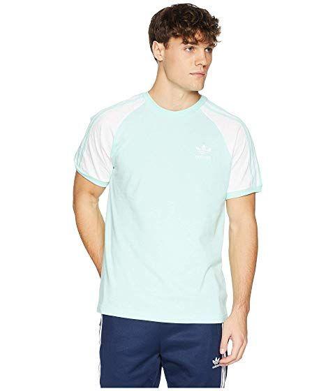 785891ce ADIDAS ORIGINALS 3-Stripes Tee, CLEAR MINT. #adidasoriginals #cloth ...